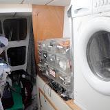 Washing Machine in Storage Area