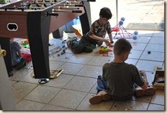 boys creating