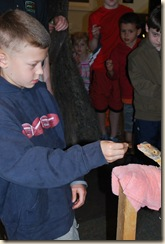 JB feeding lizard