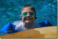JM at the pool