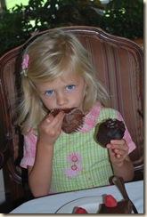 AG and big cupcake