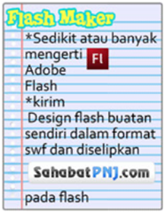 Persyaratan Flash Maker
