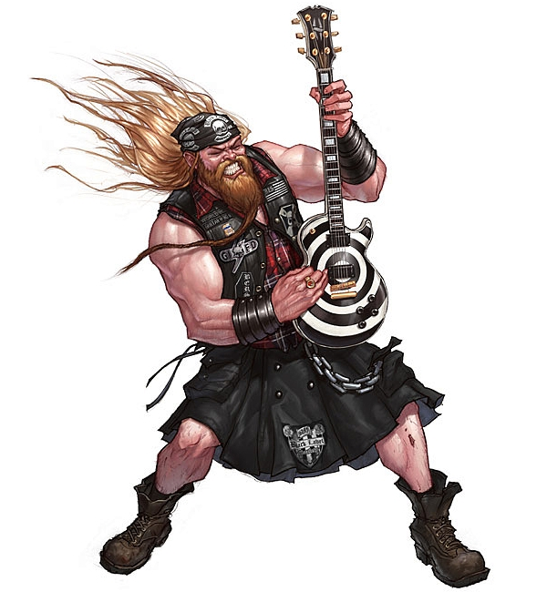 Guitar Hero illustrations