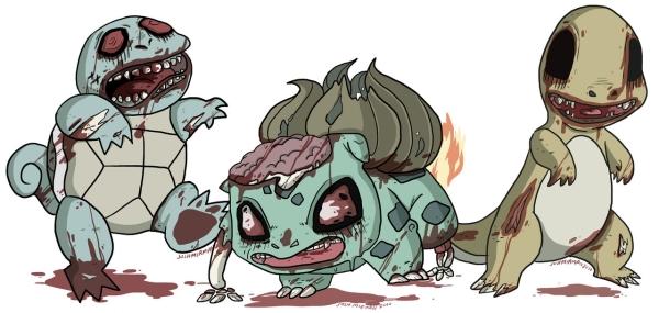 Dangerous Zombies dos desenhos animados