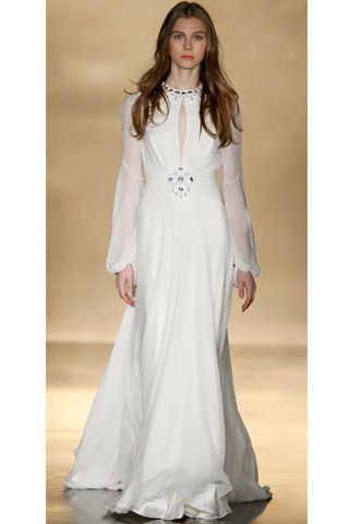 Fascinating Simple Bridal Gowns 2010