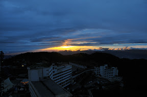 Dawn over Genting Highlands
