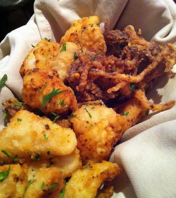 Fried Baby Squid Dans les Landes