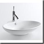 overstock oval vessel sink