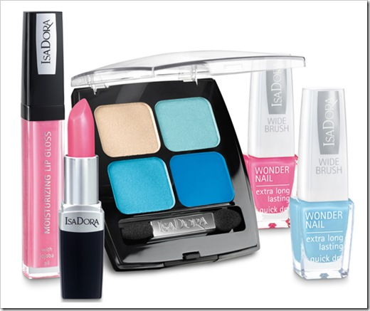 Isadora-2010-summer-Pool-Party-makeup-collection-products