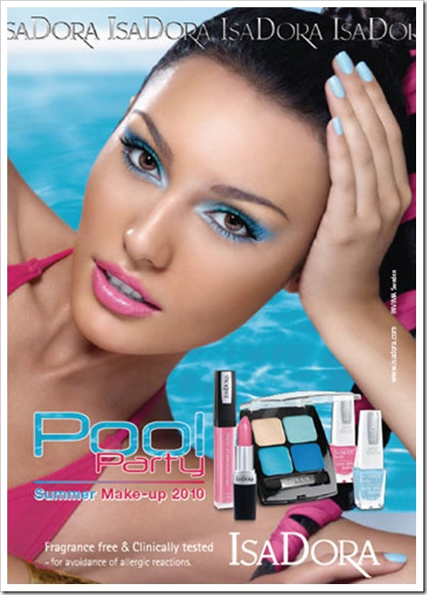 Isadora-2010-summer-Pool-Party-makeup-collection-promo