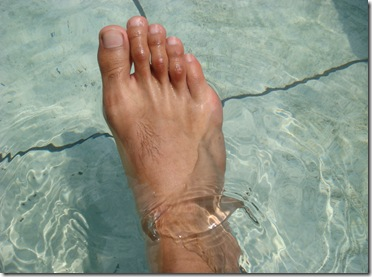 ini kaki aku..hahaha