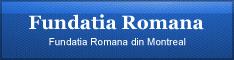 Fundatia Romana din Montreal