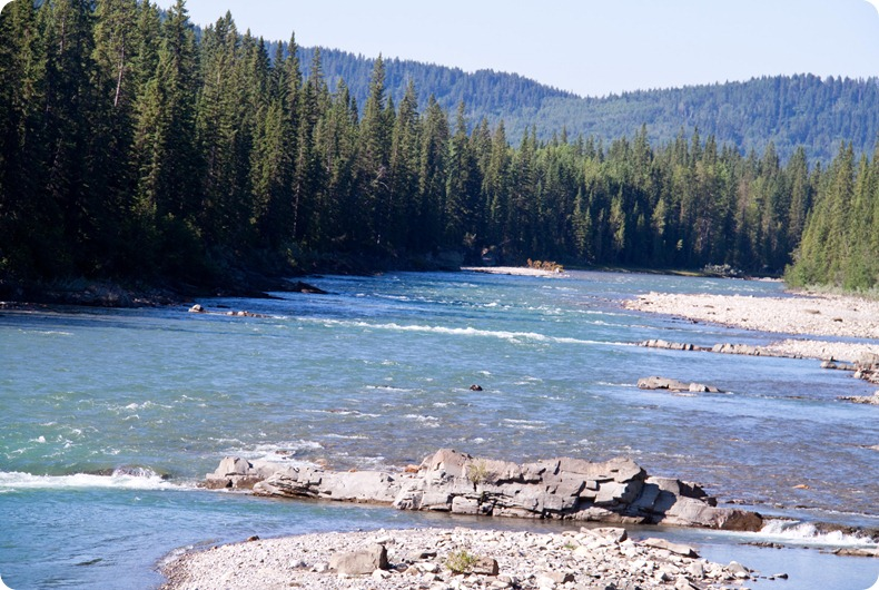 Red Deer River at the Clearwater County Line