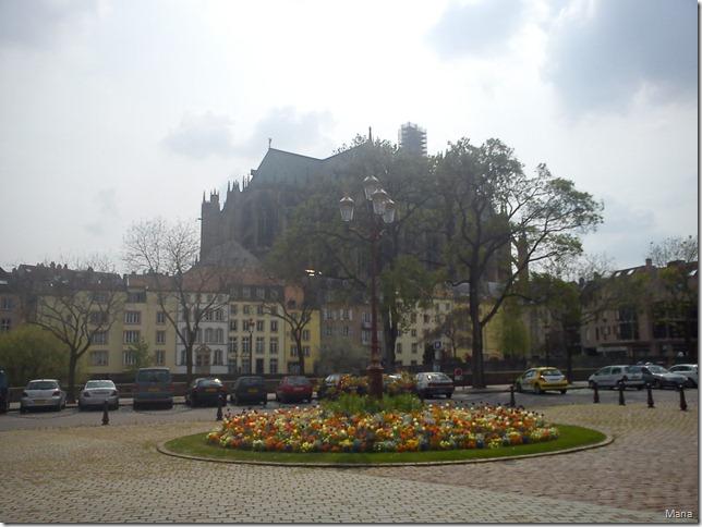 Cathédrale depuis la Préfecture