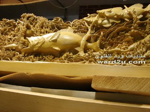 الحفرعلى الخشب وروائع فن الاويما