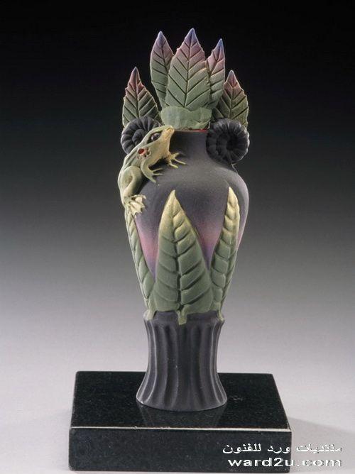 فنانة الطين الخزافة نانسى ادمز Nancy Adams