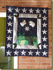 Sharnes Quilt made in memory of Ashely who died Dec 2001