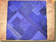 folded square, back