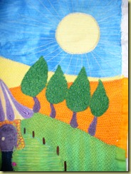 dyed sampler quilt 004