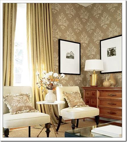 dresser in livingroom thibautdesign