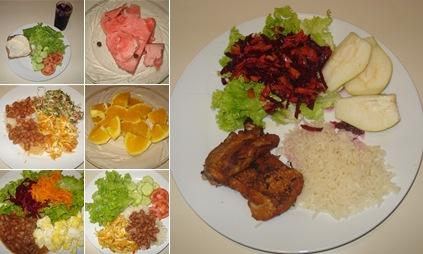 Exibir Minhas refeições
