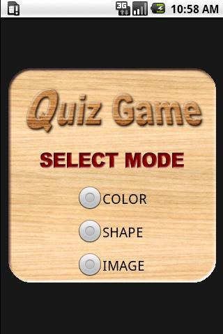 Memory Quiz