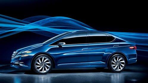 Honda has presented the concept car Li Nian Everus
