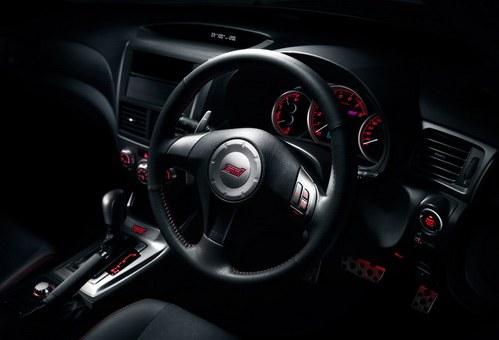Interior Subaru Impreza WRX