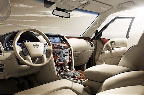 Interior Nissan Patrol