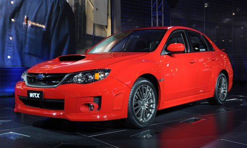 Subaru has shown in New York the new STI
