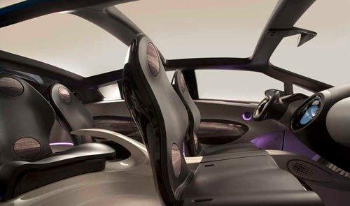 Prius, interior