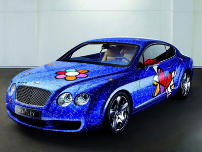 Bentley Continental GT will help sick children