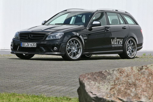Studio Vath has presented version Mercedes C63 AMG wagon
