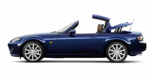 Coupe cabriolet Mazda