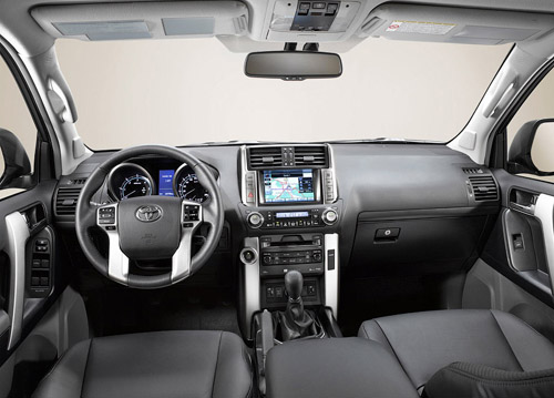 Interior Land Cruiser Prado