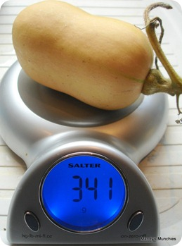 Squash weighed_2 3 Nov 09