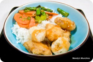 Sweet and Sour Battered PCS
