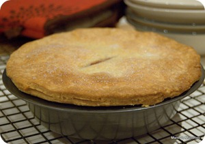 28-08 Cherry Pie cooked