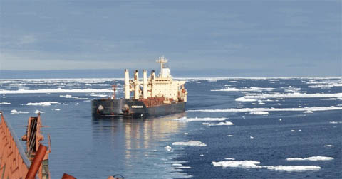Arctic shipping