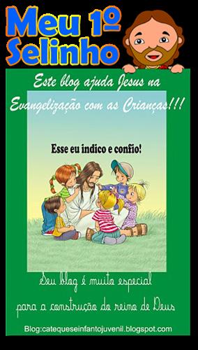 Selinho Blog Catequese Infanto Juvenil
