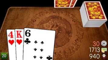 Screenshot of Ban Luck 3D Chinese blackjack