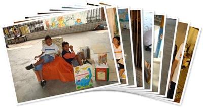 Exibir Café Literário (PEJA) e Piquenique da Leitura