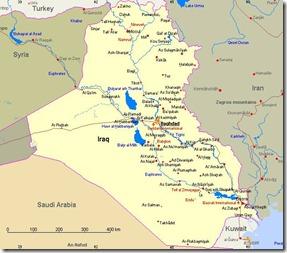 landkaart_irak