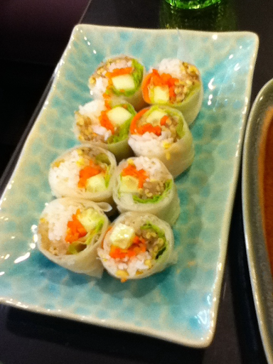 Vegetarian spring roll!