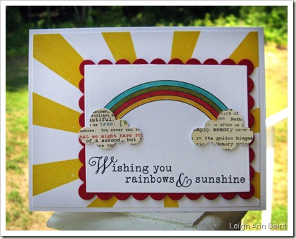 Wishing you rainbows