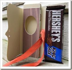 candy bar card inside