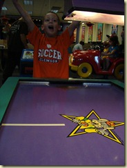 August 2010 - Visit to Chuck E Cheese