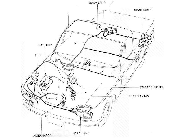 datsun 510 sedan wiring diagram