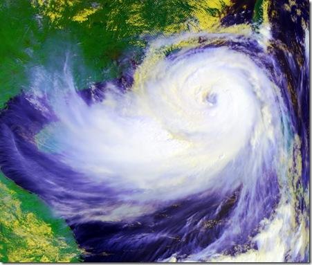 Sobre la ortografía en los nombres de ciclones.