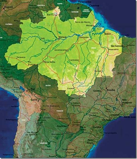 zona tropical cuenca amazonica